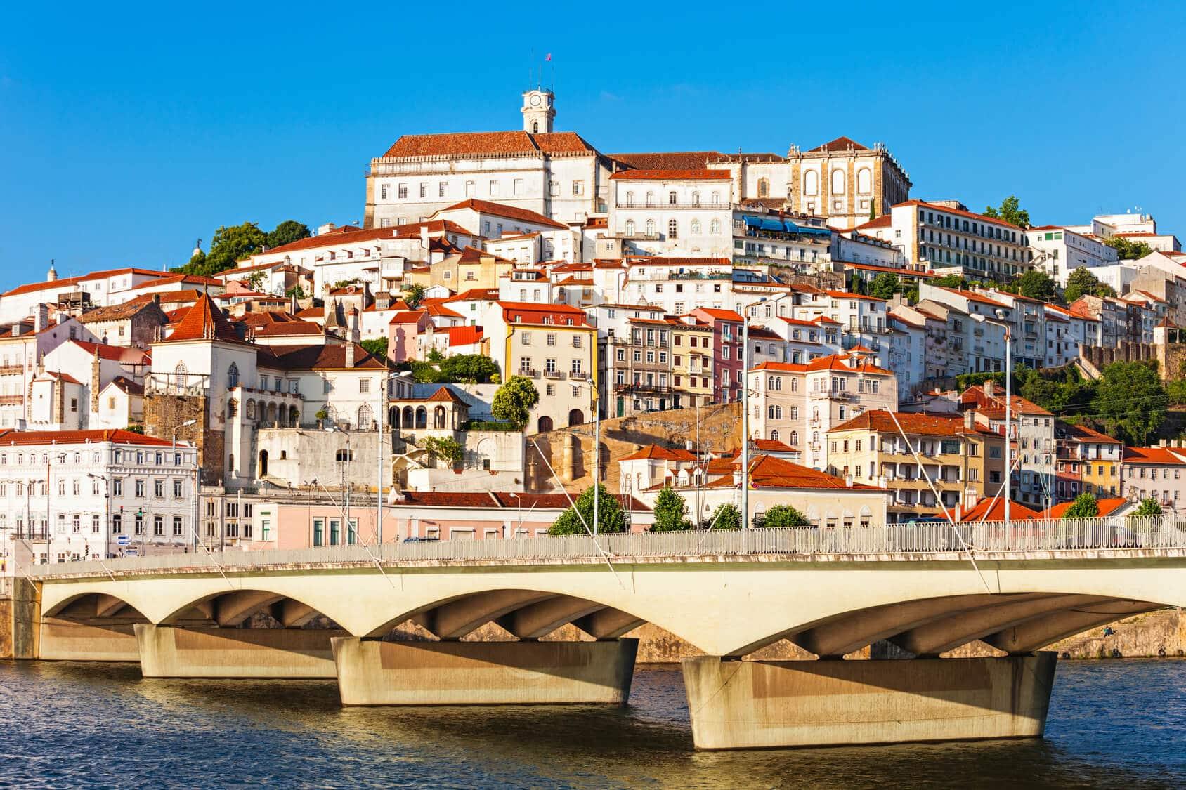 Vista de Coimbra