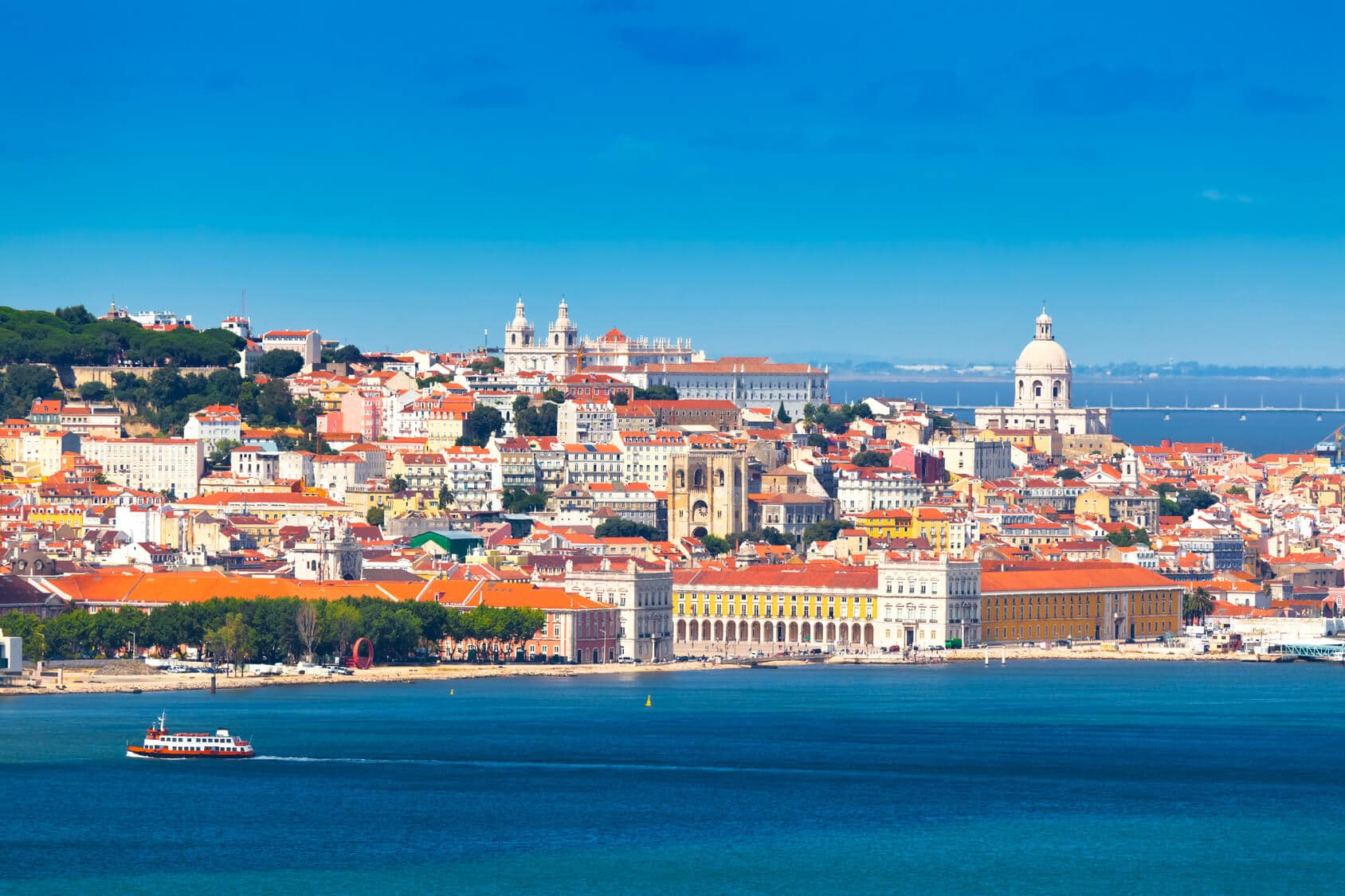 Circuito Lisboa Porto - Vista de Lisboa