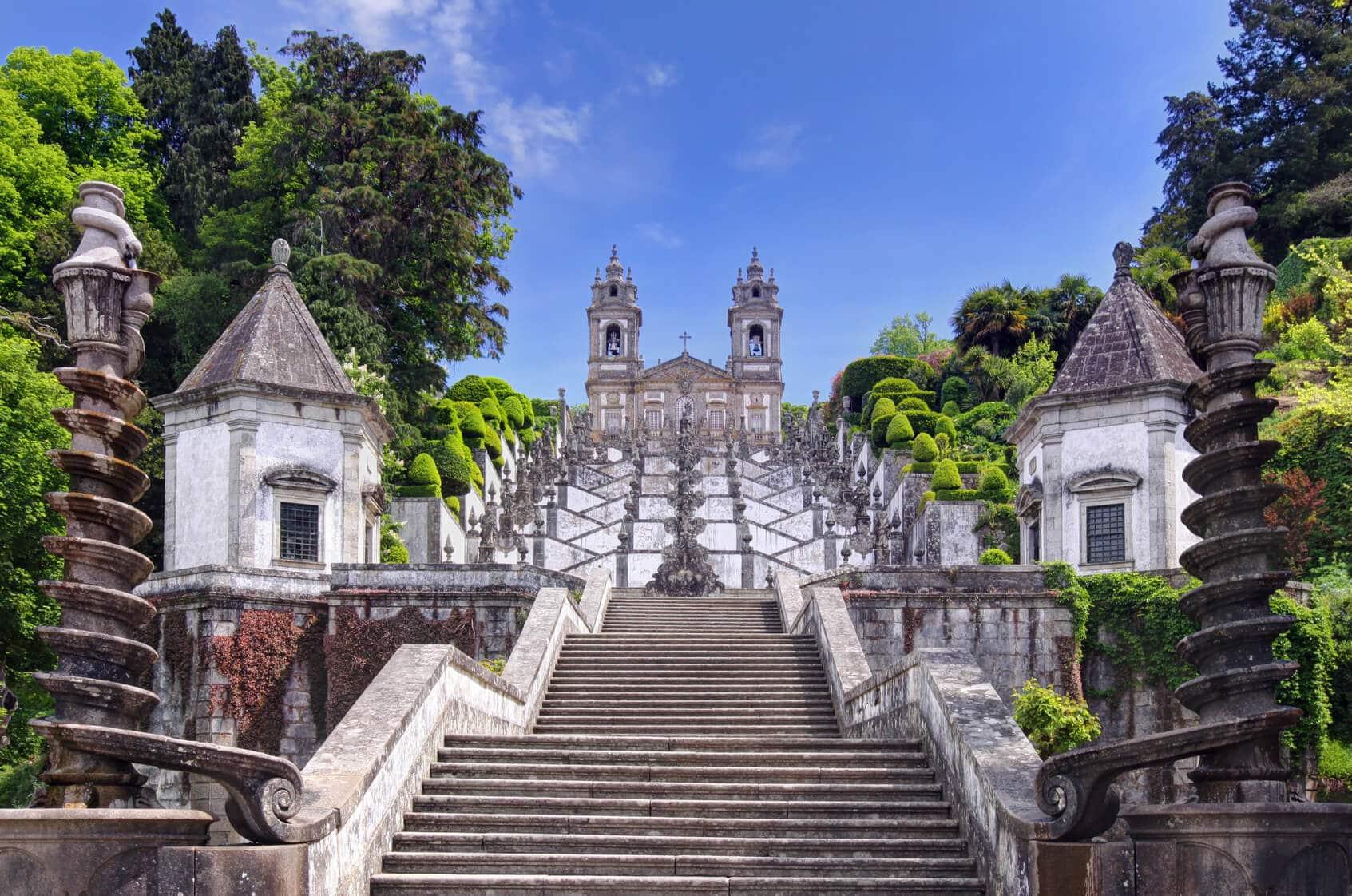 Visitas Guiadas Braga e Guimarães - Escadaria Antiga