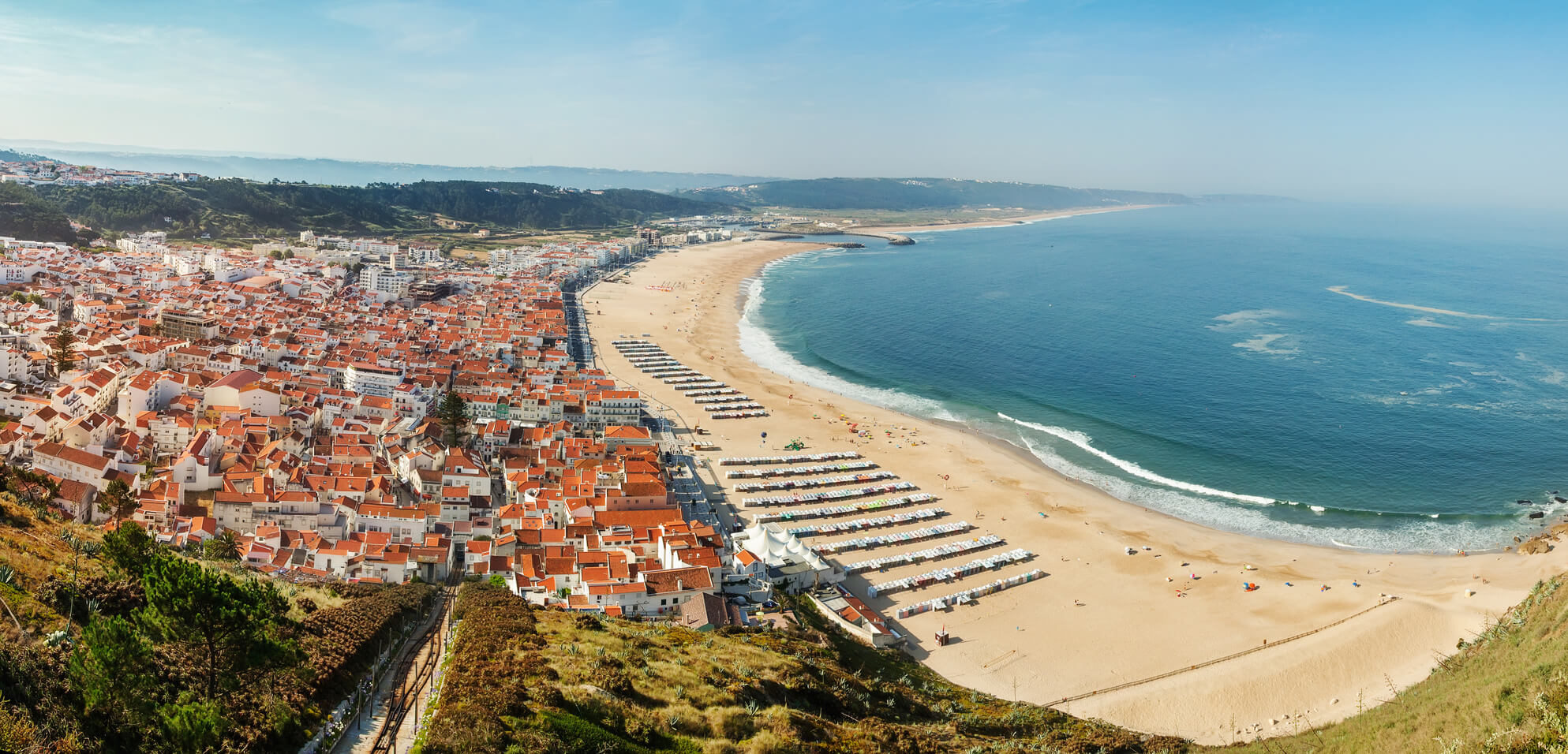 Beach of Nazaré