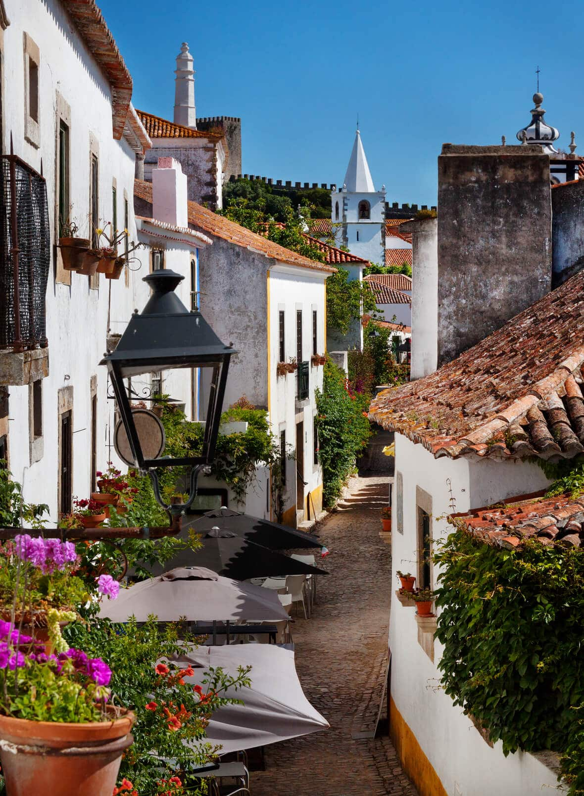 Visiting the Streets of Óbidos