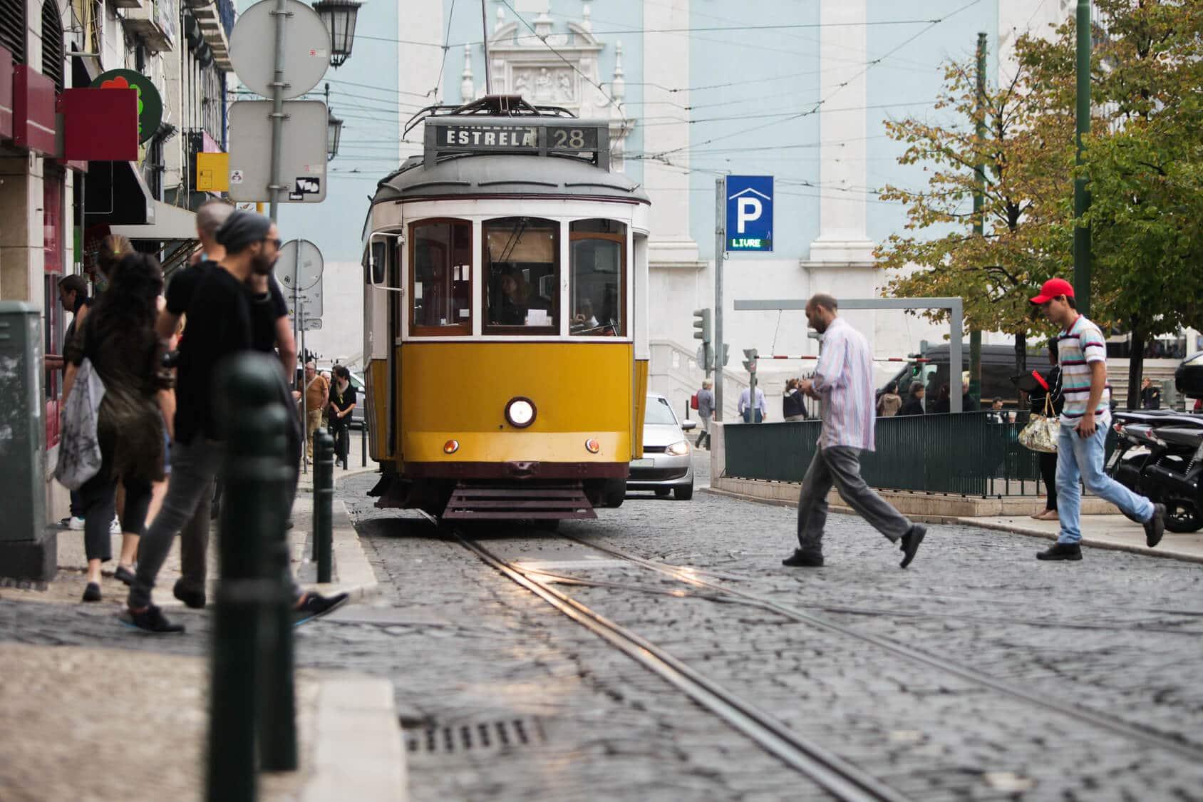 Circuito Lisboa, Sintra, Fátima : Eléctrico em Lisboa