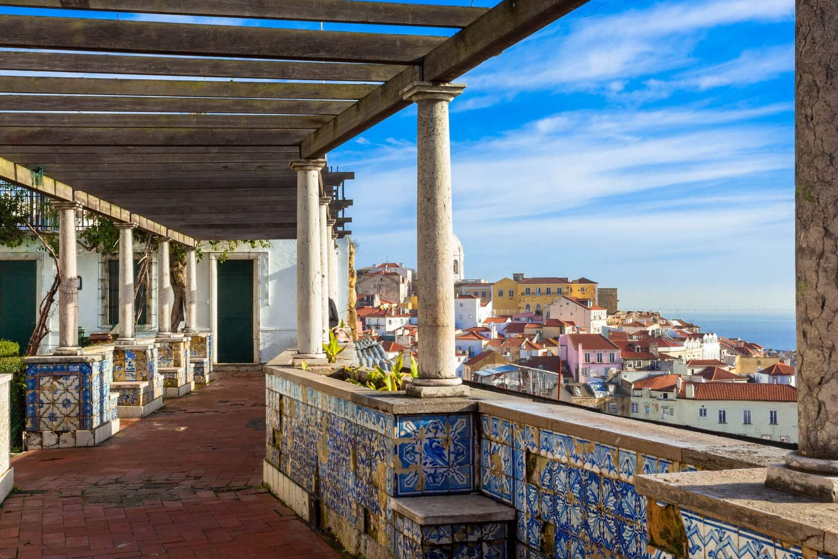 Circuito Lisboa, Sintra, Fátima : Miradouro em Lisboa