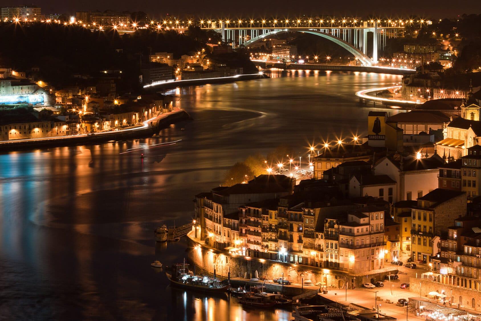 Visitas Guiadas Porto - Cidade do Porto à Noite