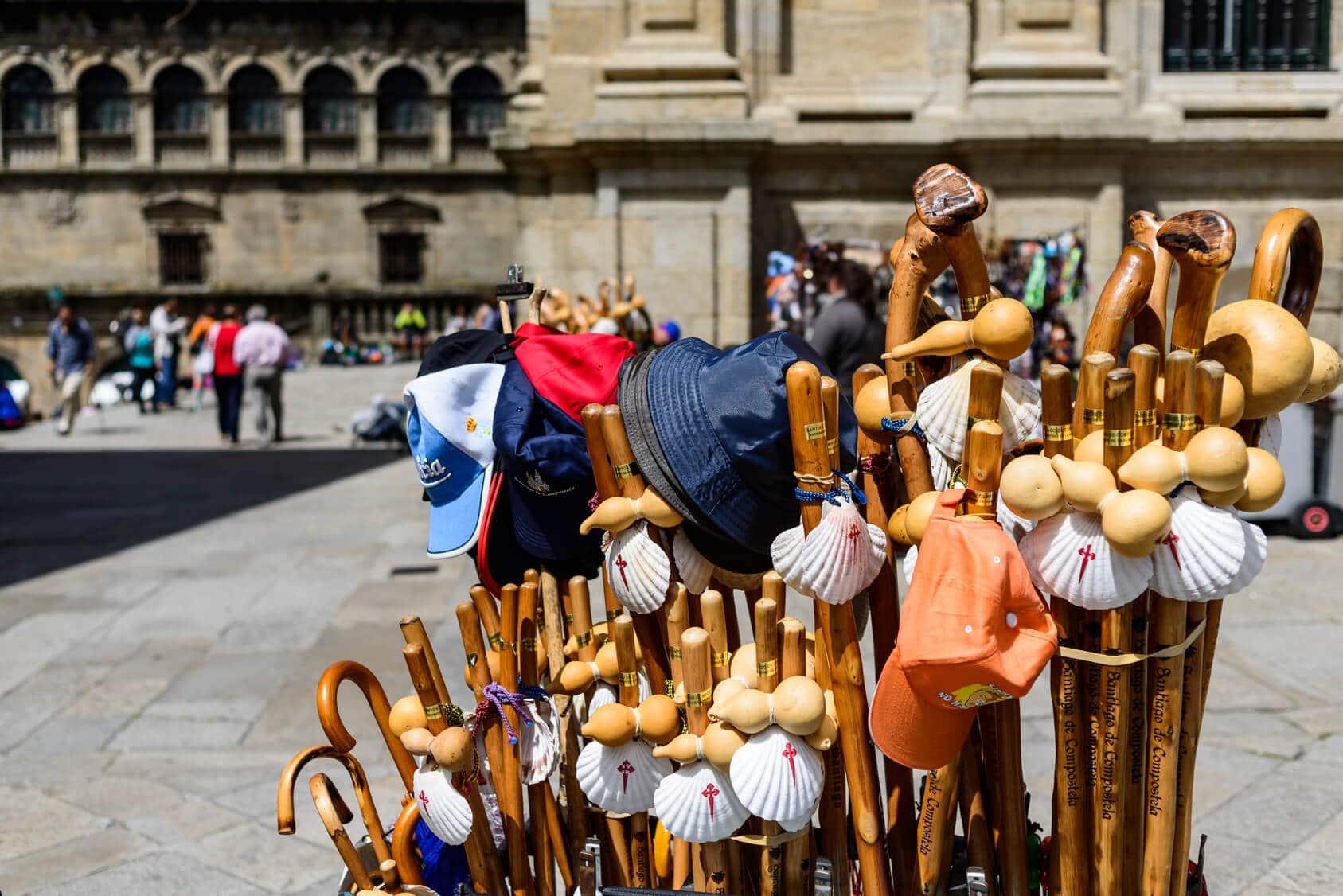Acessórios de Santiago de Compostela